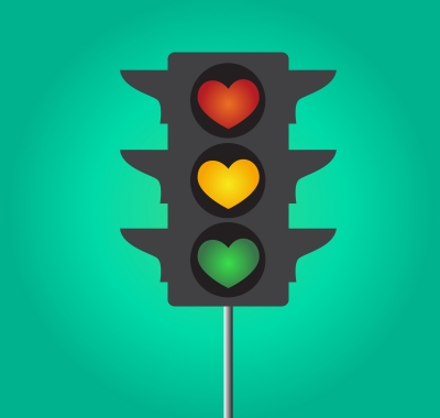 Stoplight hearts