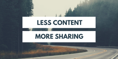 CONTENT ISN'T KING. PROMOTION IS.