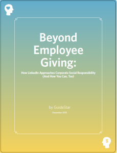 Beyond Employee Giving How LinkedIn Approaches Corporate Social Responsibility (and How You Can, Too)
